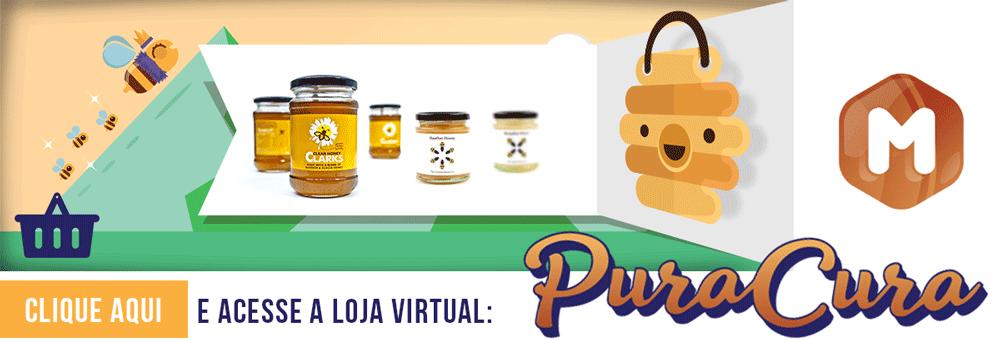 Pura-Cura: E-commerce de MEL, PROPOLIS, FAVO, APICULTURA
